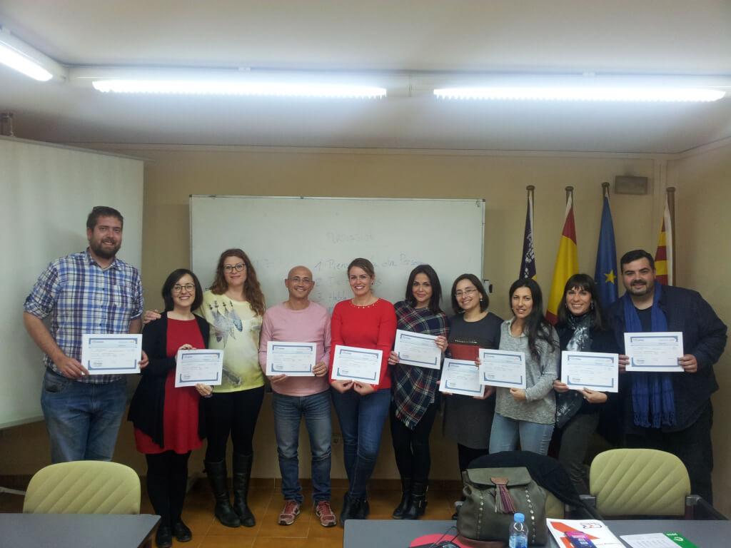 Participantes del curso de inteligencia emocional